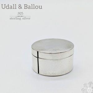 UDALL & BALLOU 925 Sterling Silver Stamp Dispenser